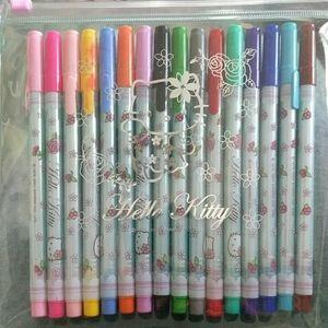 Sanrio hello Kitty fine tip gel pens